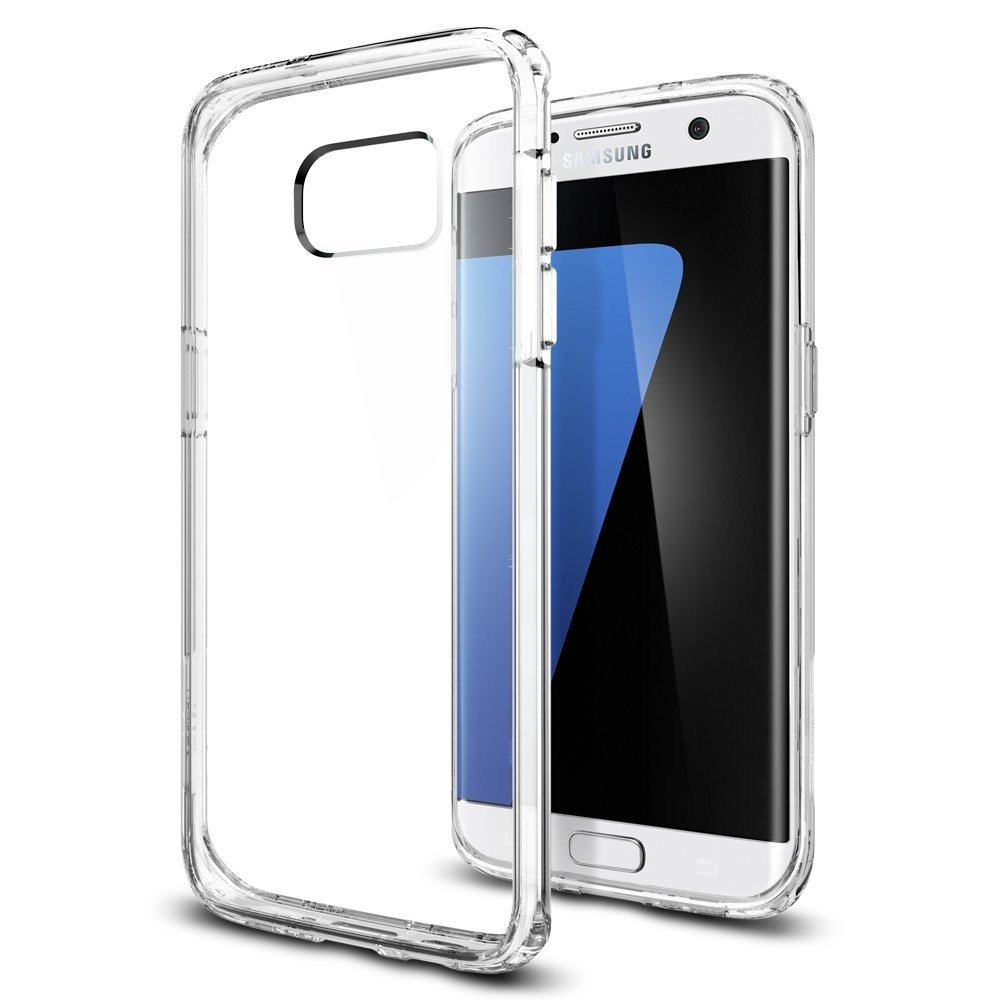 Spigen® Ultra Hybrid θήκη προστασίας για Samsung Galaxy S7 Edge σε χρώμα Crystal Clear