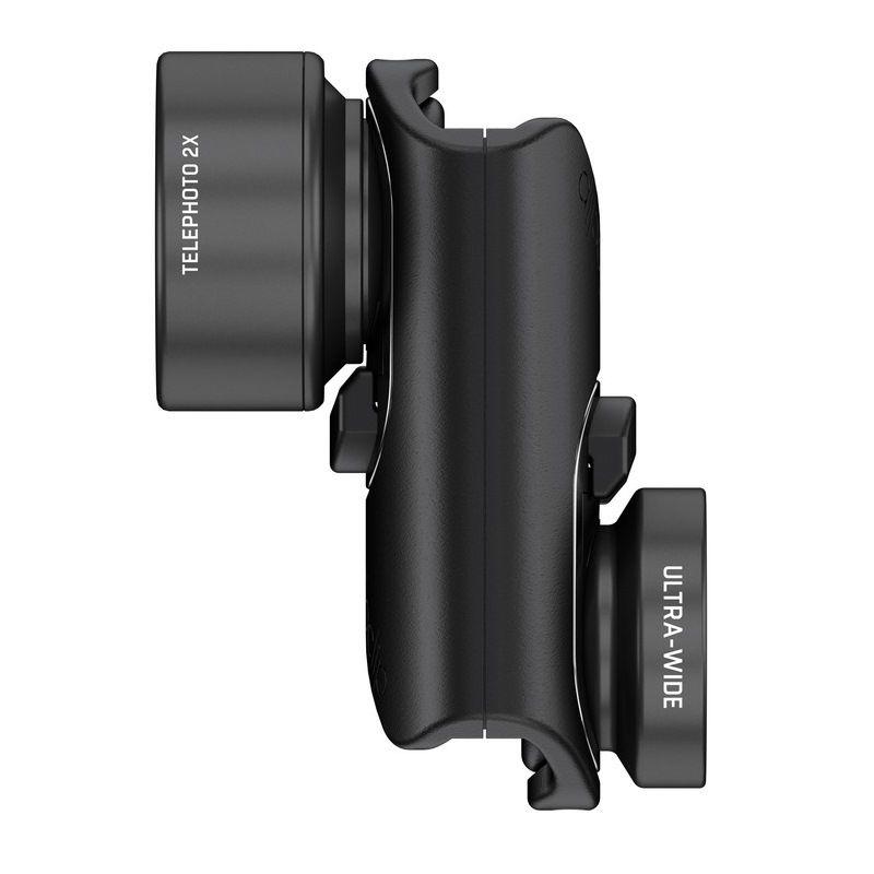 Olloclip Φωτογραφικός φακός Active Lens για iPhone 7 & 7 Plus σε μαύρο χρώμα