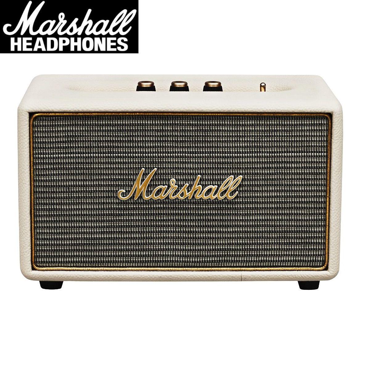 Marshall Acton Bluetooth Ασύρματο ηχείο σε κρεμ χρώμα