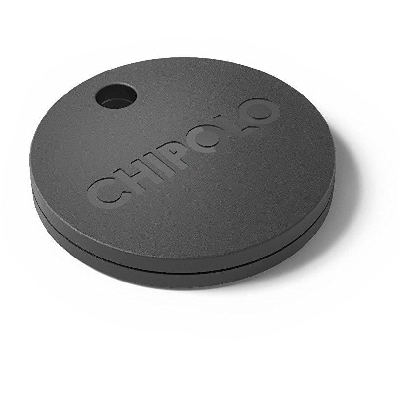 Chipolo Plus Smart Μπρελόκ εύρεσης κλειδιών Bluetooth σε μαύρο χρώμα
