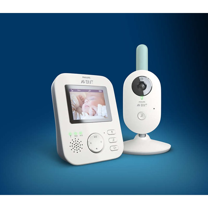 Philips Avent SCD620/52 - Ψηφιακό Video Baby Monitor με βίντεο υψηλής ανάλυσης 720p
