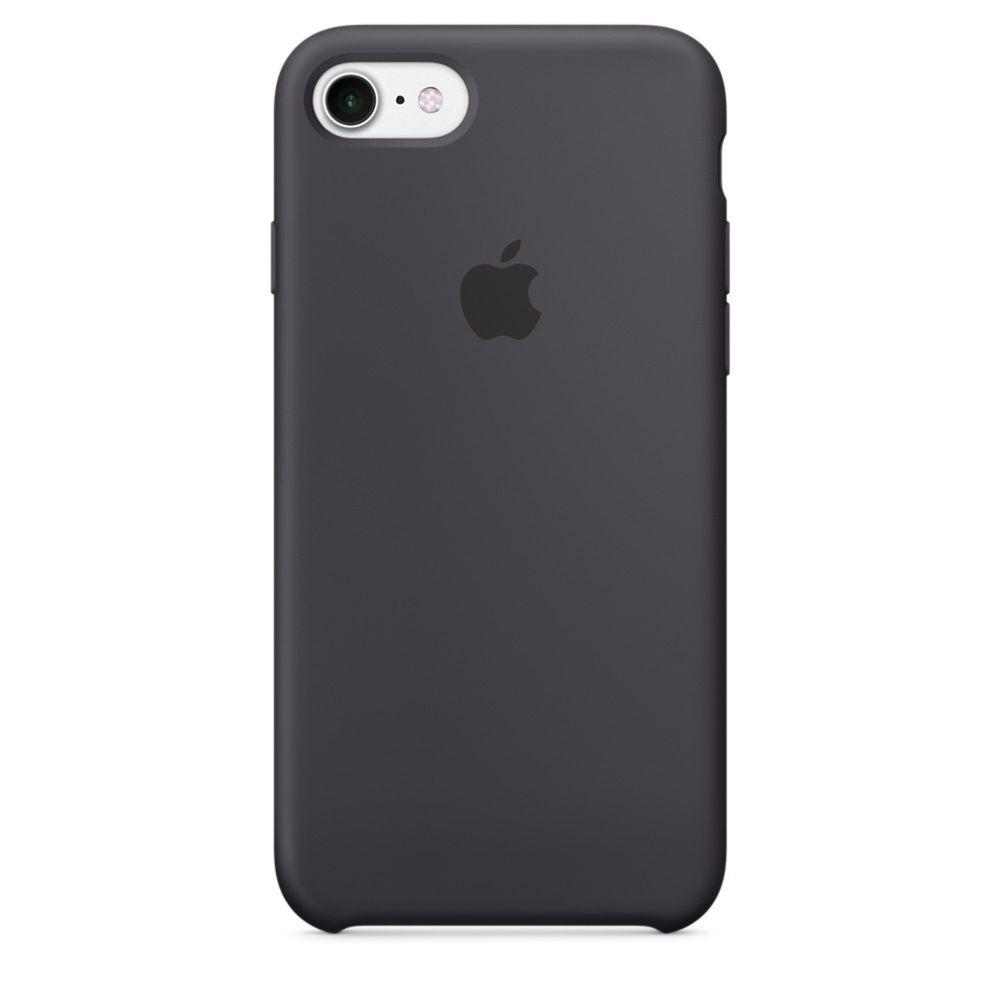 OEM iPhone 7 Silicone Case - SIL-IPH7-DGR - Dark Grey