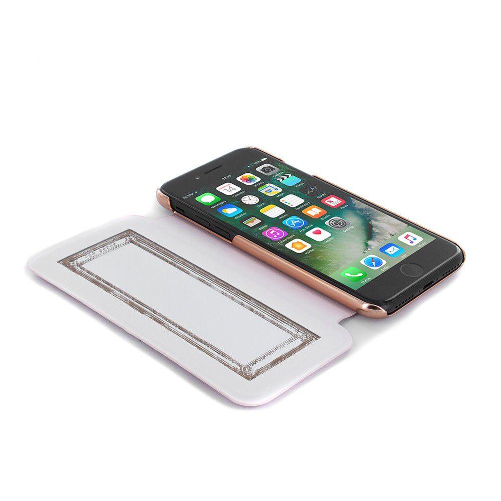 5f8d3198e ... Ted Baker SS17 θήκη προστασίας Mirror Folio για iPhone 7 Glitsie - Rose  Gold ...