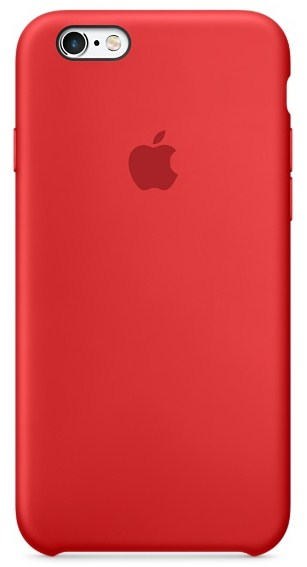 OEM iPhone 6/6s Silicone Case - SIL-IPH6-RED - Red