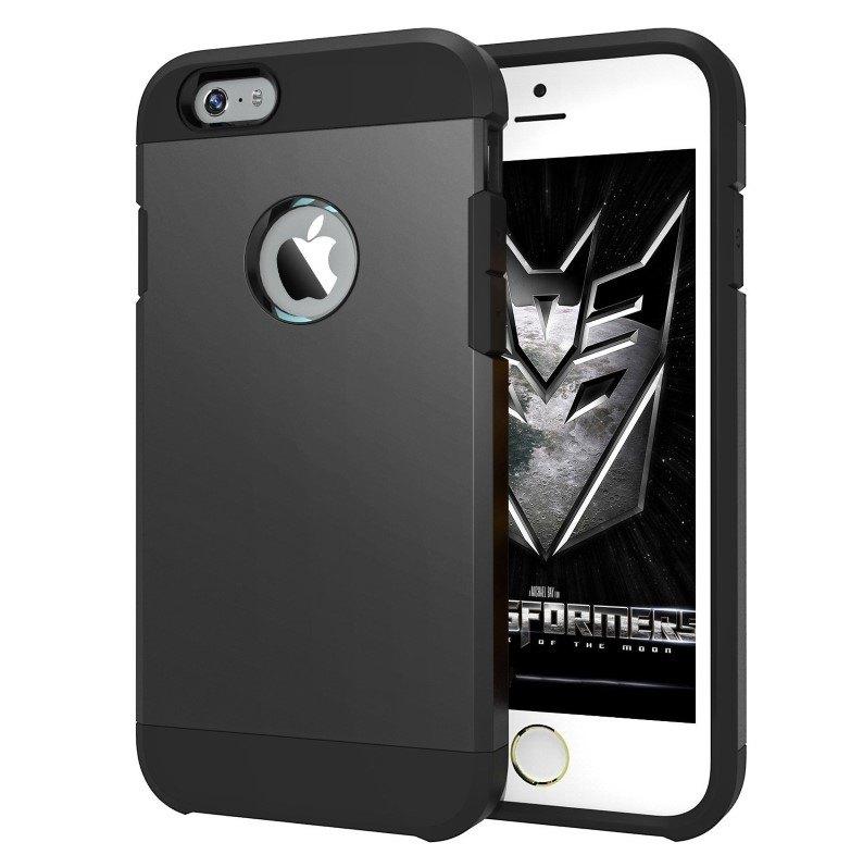 7Cases Θήκη Bumper για iPhone 6/6S Μαύρη